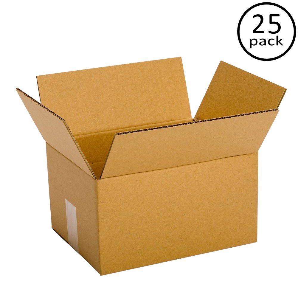 12 in. x 9 in. x 6 in. 25-Box Bundle