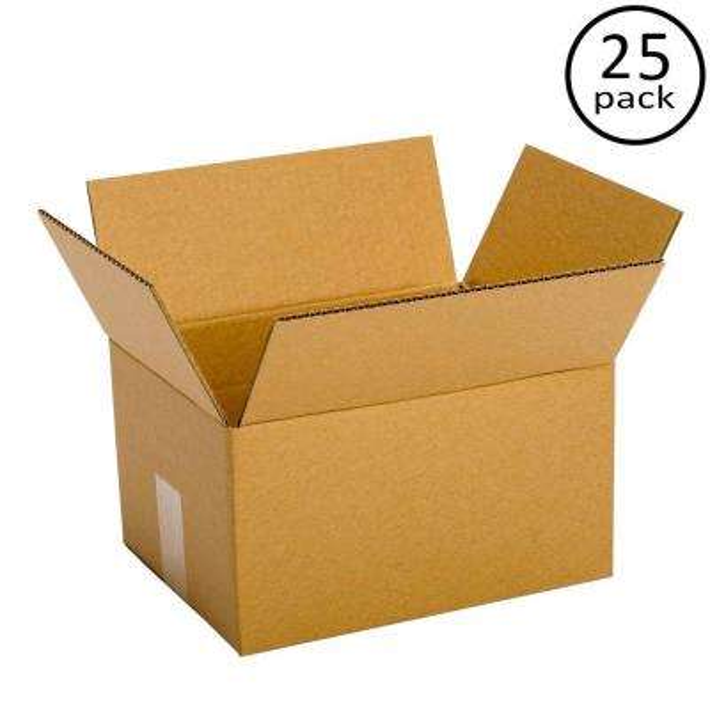 12 in. L x 9 in. W x 6 in. D Box (25-Pack)