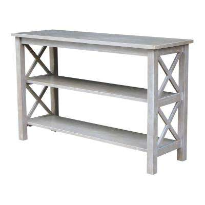 Hampton Weathered Grey Console Table