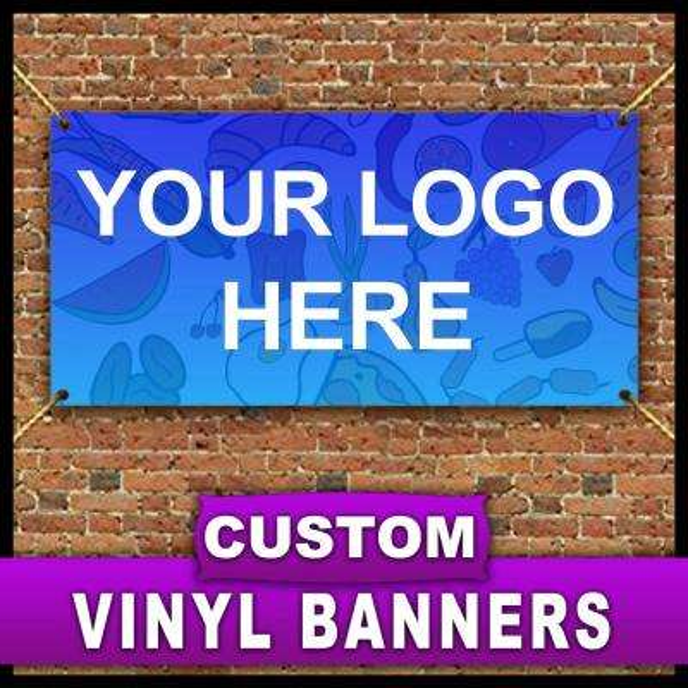 5 ft. x 10 ft. Custom Vinyl Banner