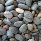 0.25 cu. ft. 5/8 in. - 7/8 in. Unpolished Mixed Mexican Beach Pebble Bag