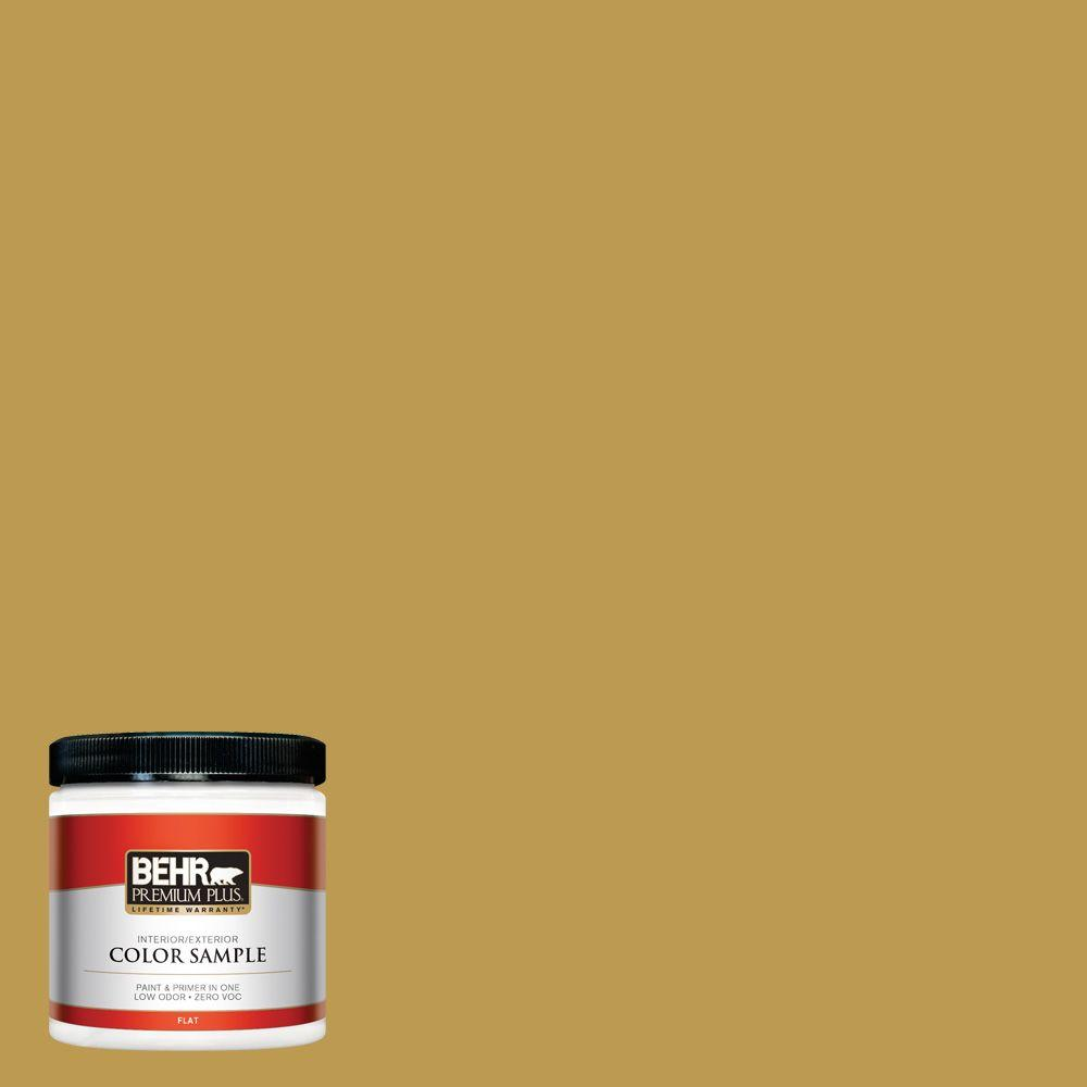 8 oz. #M320-6 Tangy Green Interior/Exterior Paint Sample