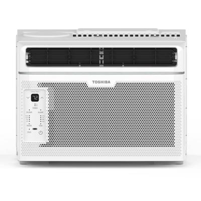 6,000 BTU 115-Volt Touch Control Window Air Conditioner with Remote in White