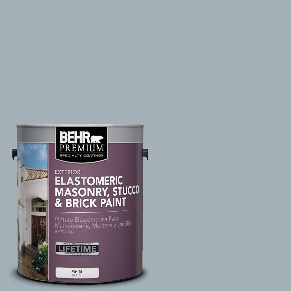 BEHR Premium 1 gal. #MS-72 Biscayne Bay Elastomeric Masonry, Stucco and Brick Paint