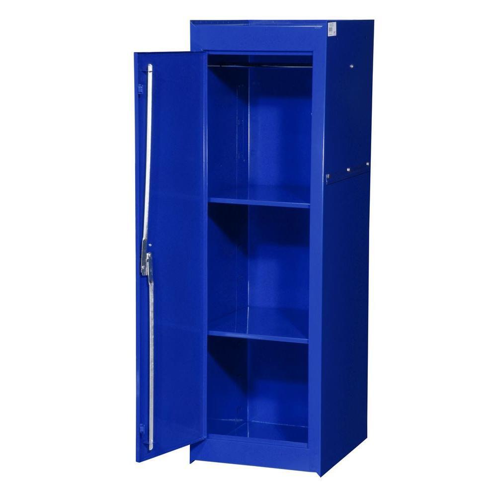 International Tech Series 15-3/8 in. 2-Shelf Full Side Locker, Blue