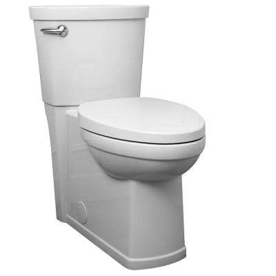 Cadet 3 Decor Tall Height 2-Piece 1.28 GPF Single Flush Elongated Toilet in White, Seat Included
