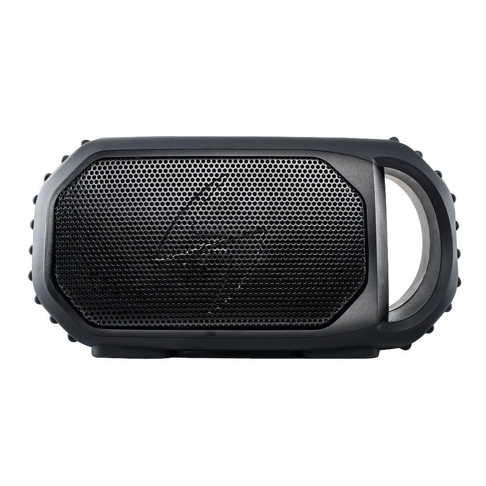 portable outdoor speakers. ecoxgear ecostone portable outdoor bluetooth speaker - black speakers i