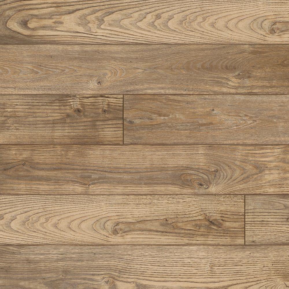 Hampton Bay Clayton Oak Laminate Flooring - 5 in. x 7 in. Take Home Sample