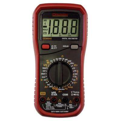 Digital Multimeter with Temperature