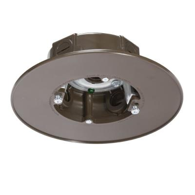 Bronze Weatherproof Ceiling Fan and Luminaire Box