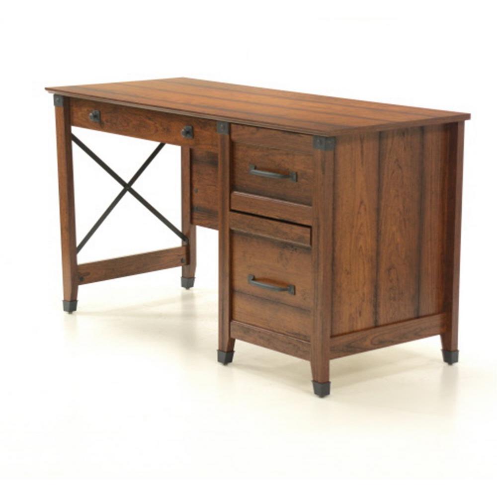 Cherry Washington Sauder Carson Forge Writing Desk