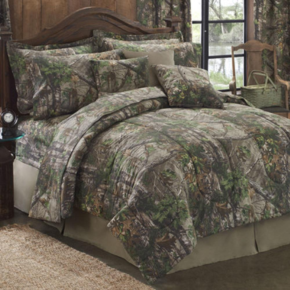 comforter realtree sets snow ap bedding set bed black apbk camo twin