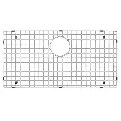 28-3/4 in. x 14-1/2 in. Stainless Steel Bottom Grid