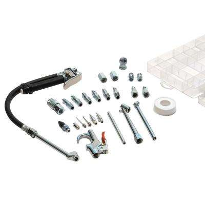 30-Piece Garage Inflator Air Accessory Kit and Storage Case
