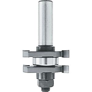 Makita 1/4 inch Carbide-Tipped 2-Cutter Tongue and Grove Router Bit 2-Wing with... by Makita