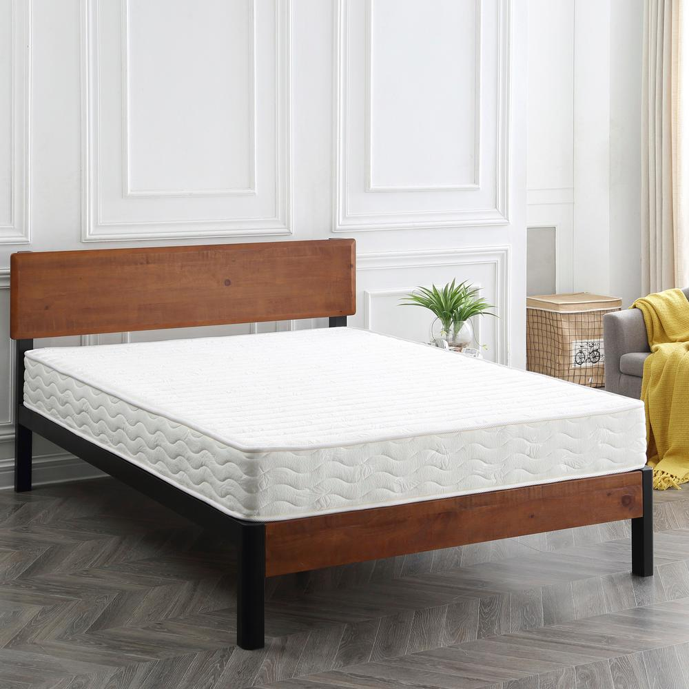 sleep options advantage twin size 8 in innerspring mattress 413001 1110 the home depot. Black Bedroom Furniture Sets. Home Design Ideas