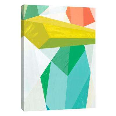 12 in. x 10 in. ''Glass Vase 2'' Printed Canvas Wall Art