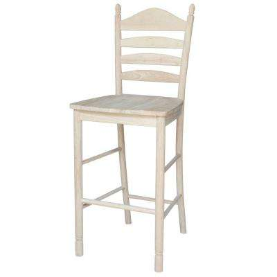 International Concepts Bedford 29.9 inch Unfinished Wood Bar Stool by Wooden Bar Stools