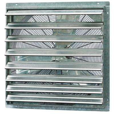 5000 CFM Power 30 in. Single Speed Shutter Exhaust Fan