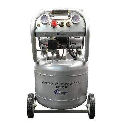 Quiet Flow 10 Gal. 2.0 HP Portable Electric Oil-Free Air Compressor