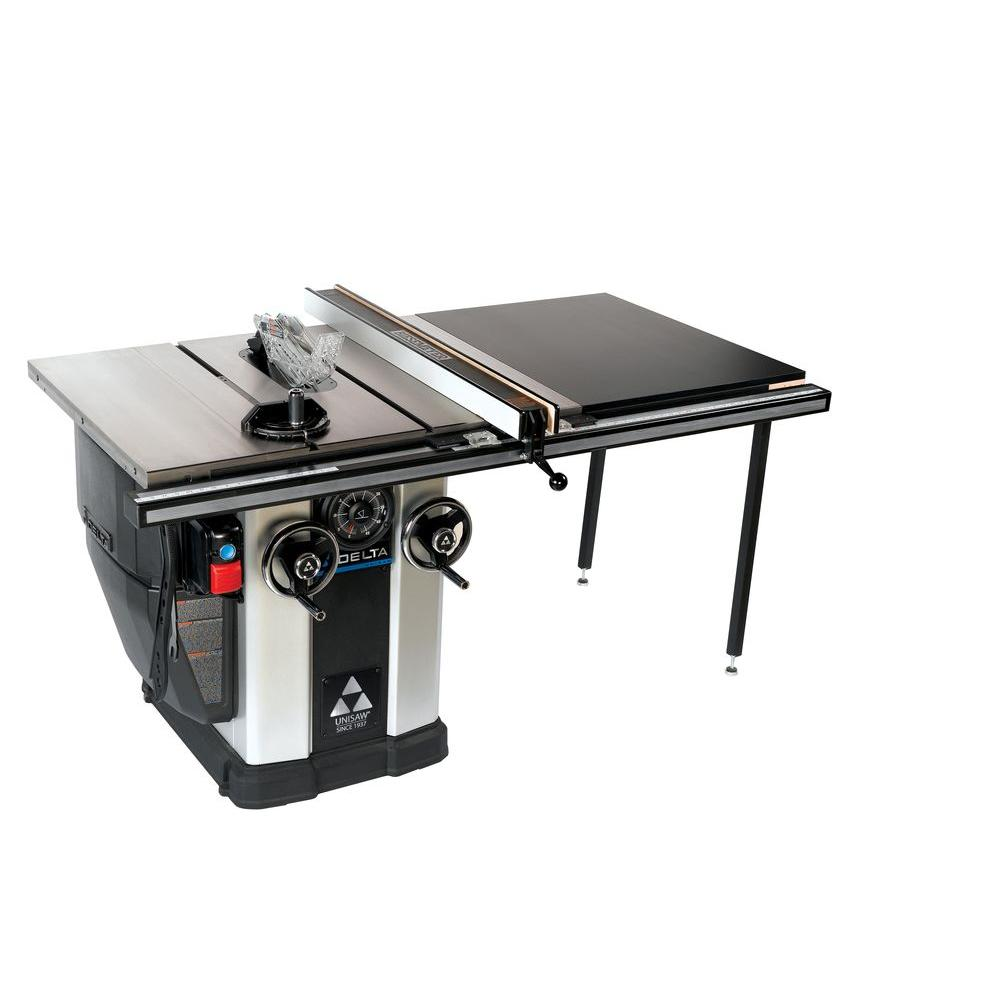 12.5 Amp 3HP 10 in. Unisaw Table Saw with 36 in.