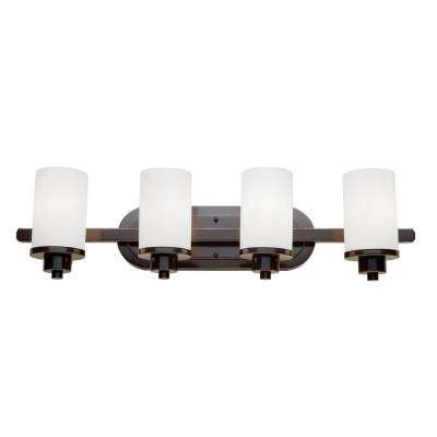 Parkdale 4-Light Oil Rubbed Bronze Bath Light