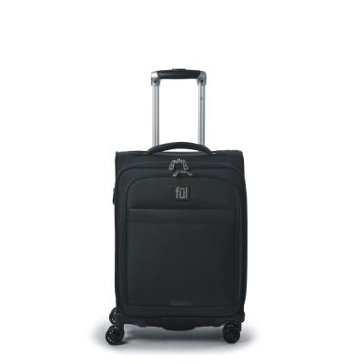 Escape 21 in. Black Soft Sided Business Carry-On Luggage