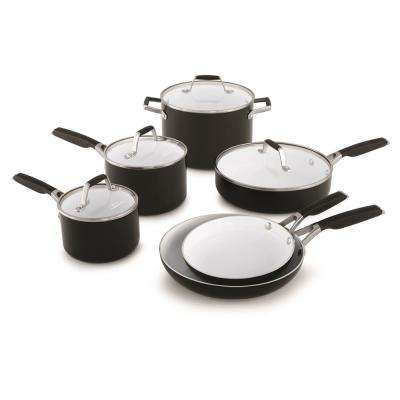 Select 10-Piece Ceramic Nonstick Cookware Set