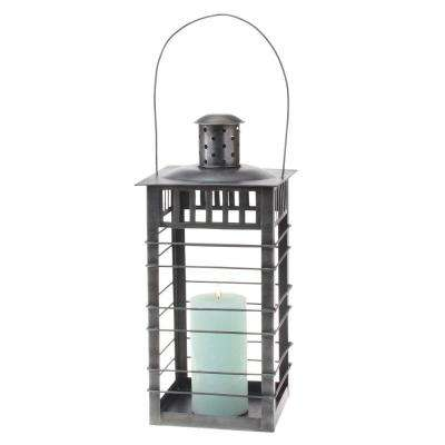 20 in. Gun Metal Lantern