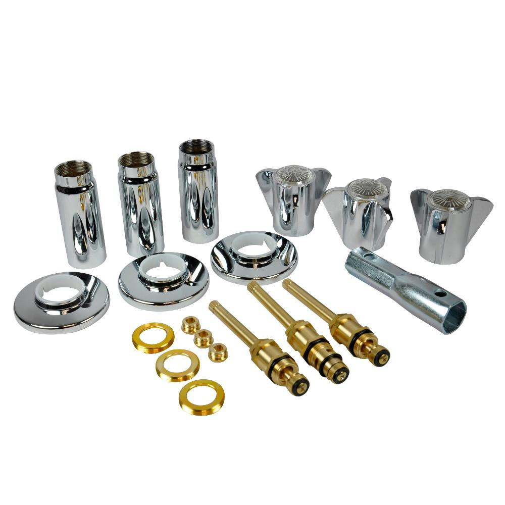 Shower Valve Sleeves - Shower and Bathtub Parts & Repair - The Home ...