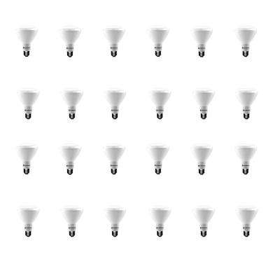 65-Watt Equivalent BR30 Dimmable ENERGY STAR LED Light Bulb Soft White (24-Pack)
