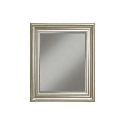 Champagne Silver Decorative Wall Mirror