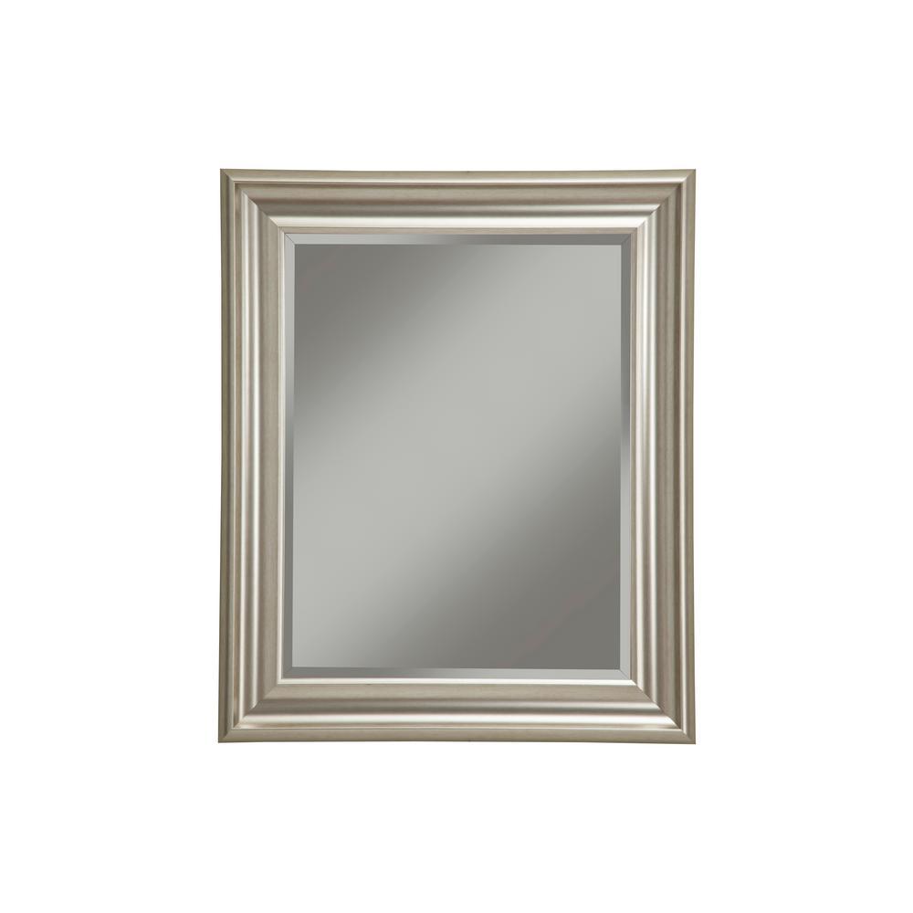 Champagne Silver Decorative Wall Mirror