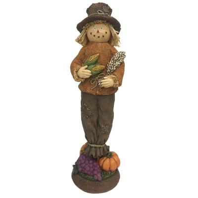 Home Accents Holiday 15 in. Harvest Boy Scarecrow