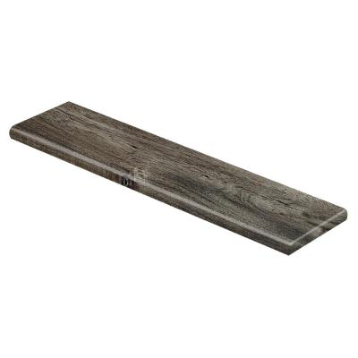 Duchess Acacia/Aberdeen 47 in. L x 12-1/8 in. W x 1-11/16 in. T Laminate Right Return to Cover Stairs 1 in. Thick