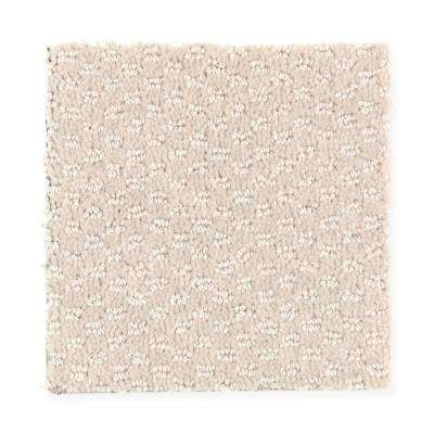 8 in. x 8 in. Textured Carpet Sample - Hopeview - Color Muslin