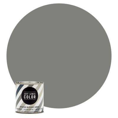 8 oz. #JLC411 Earl Grey No-Gloss Ultra-Low VOC Interior Paint Sample