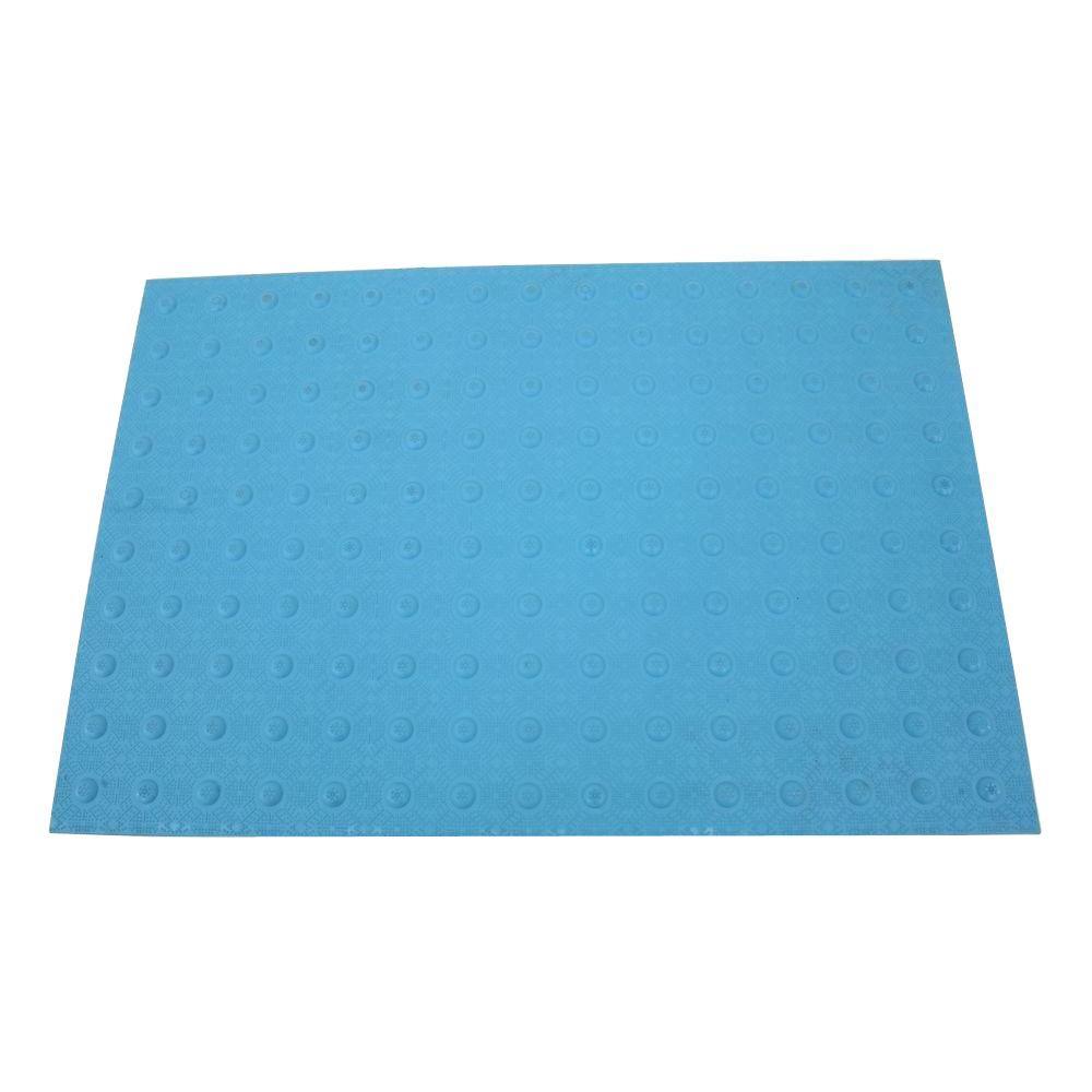 DWT Tough-EZ Tile 2 ft. x 3 ft. Blue Detectable Warning Tile