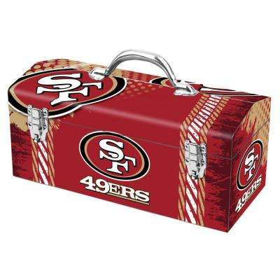 7.2 in. San Francisco 49ers NFL Tool Box