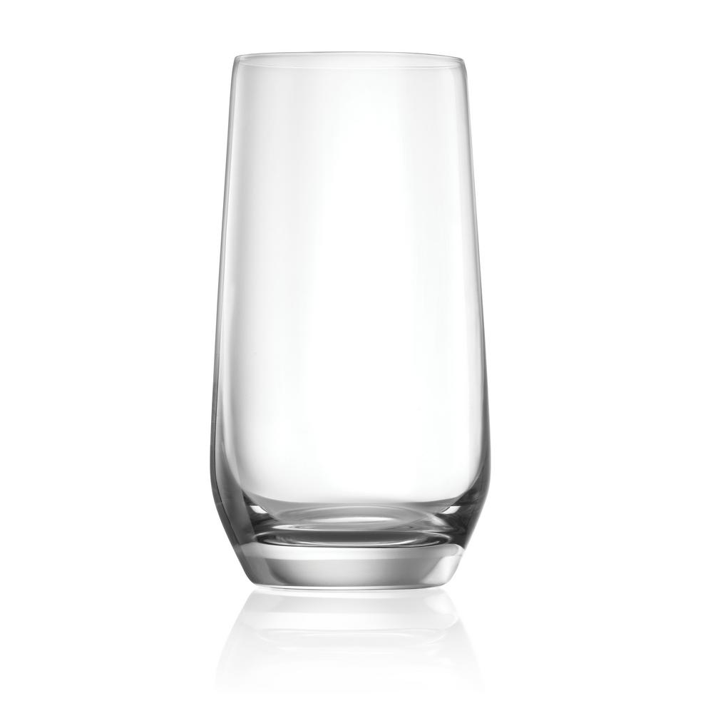 Hong Kong Hip 8-Piece 15.6 oz. Long Drink Glasses