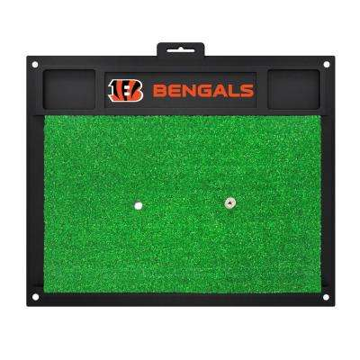 NFL Cincinnati Bengals 17 in. x 20 in. Golf Hitting Mat
