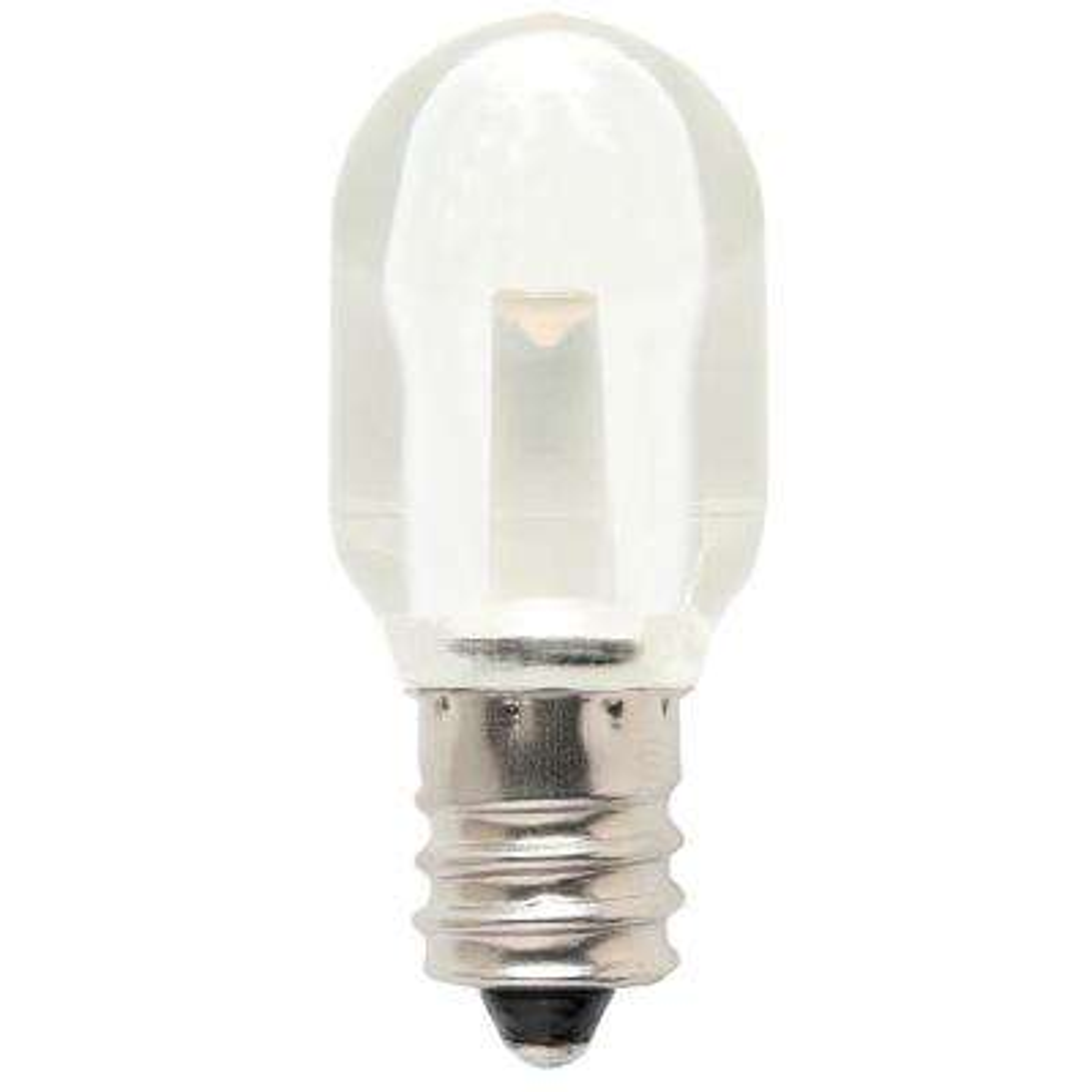 6W Equivalent Clear S6 LED Light Bulb