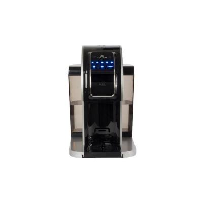 Silver Single Serve Coffee Maker with Rapid Brew Technology