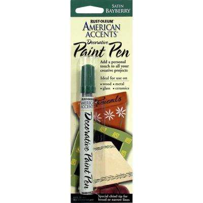 Satin Bayberry Decorative Paint Pen (6-Pack)