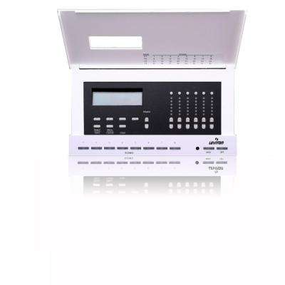 Dimensions D4106 Lighting Controller for Luma-Net System, 6 Control Channels, 6 Local Dimmers, 20 Amp, 120-Volt