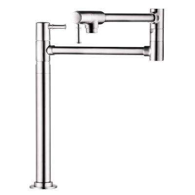 Talis C Deck Mount 2-Handle Potfiller in Polished Nickel