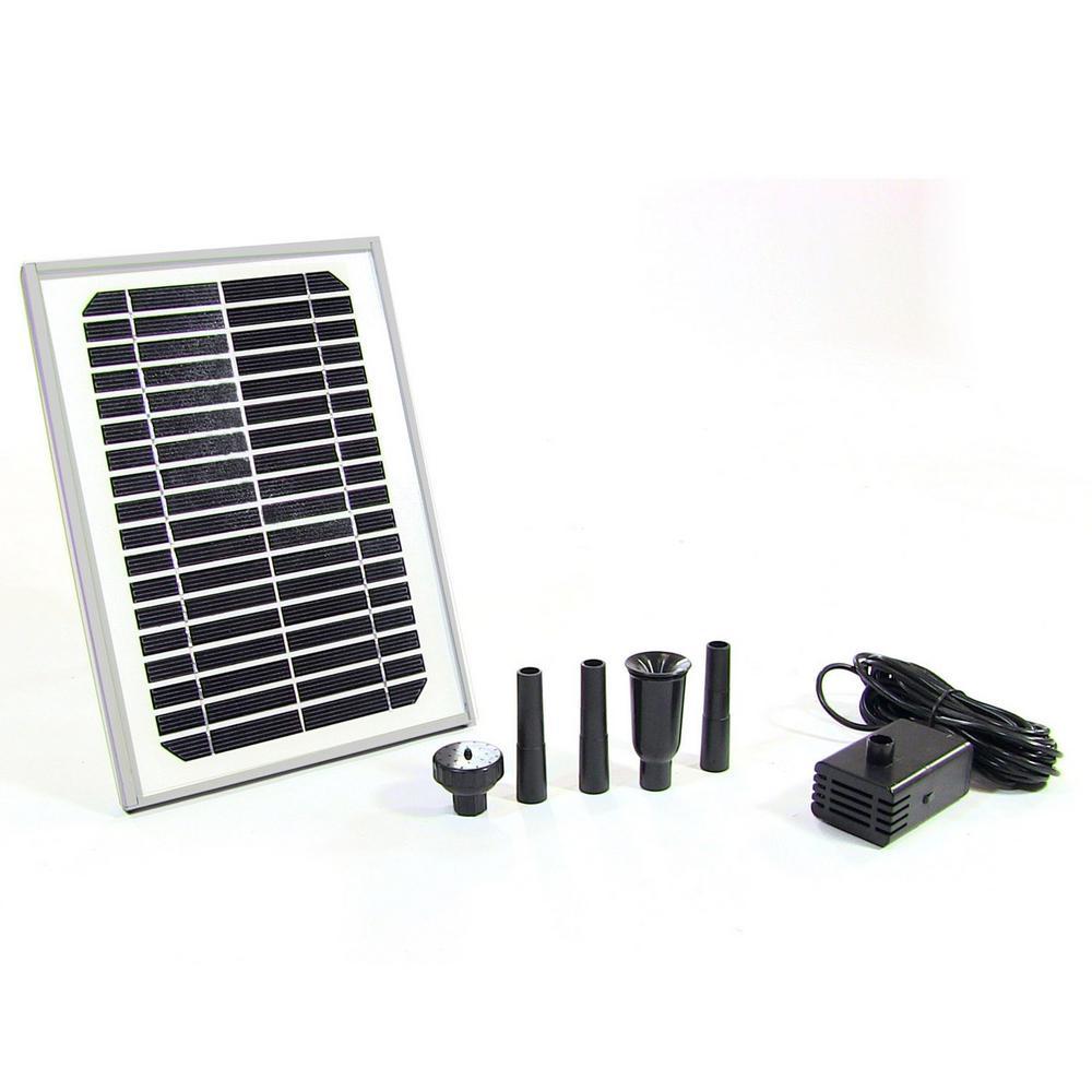 132 GPH Solar Pump and Panel Kit