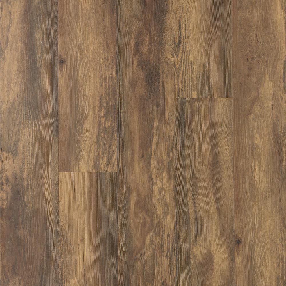 Take Home Sample - Balcony Brown Wood Laminate Flooring - 5 in. x 7 in.