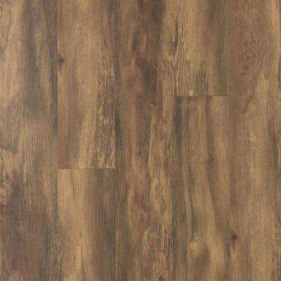 Take Home Sample - Balcony Brown Wood Laminate Flooring - 5 in. x 7 in.