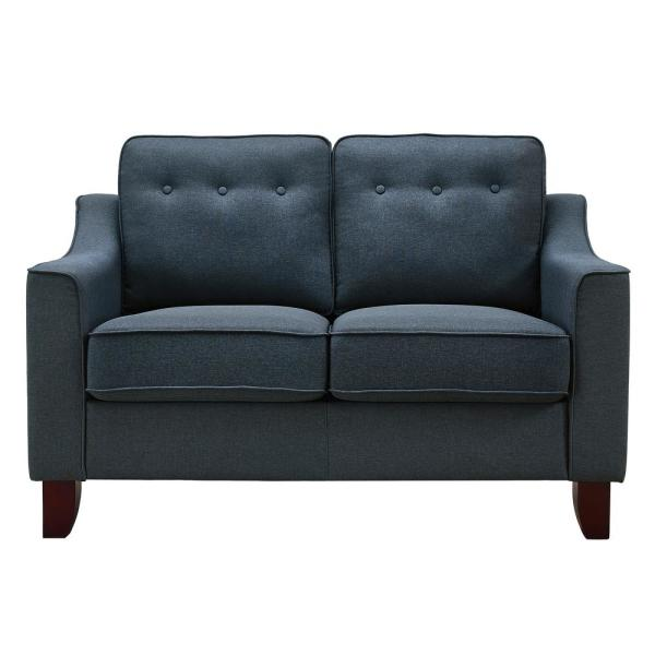 Dorel Living Dani Blue Loveseat FH006-LS